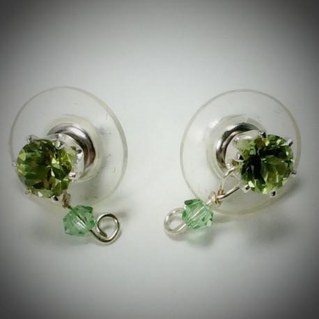 Peridot Stud Earring- 1976