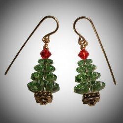 Small Christmas Earrings