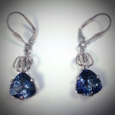 Iolite Earrings - 1819