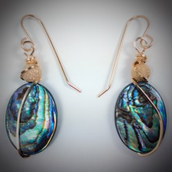 Abalone Earrings - 2029