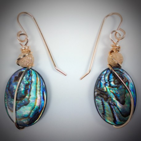 Abalone Earrings - 2029