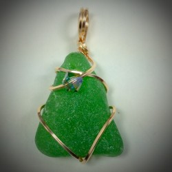 Green Sea Glass - 2083
