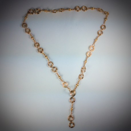 Gold Multi-Function Necklace