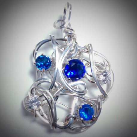 Blue Sapphire CZ - 2206