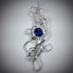 Blue Sapphire CZ - 2211