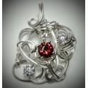 Ruby Cubic Zirconium -2216-1
