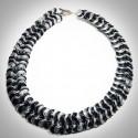 Black & Silver Necklace - 2271