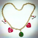 Love to Golf Necklace - 2336
