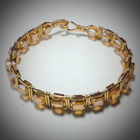 Golden Shadow Bracelet - 2356
