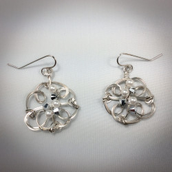 Diamonds and Pearl Earrings- 2361