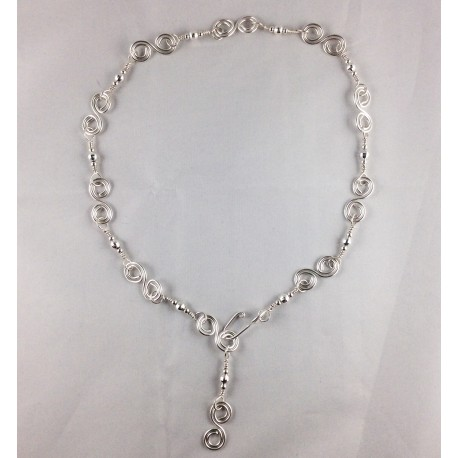 Silver Multi-Function Necklace
