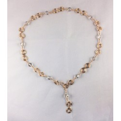 Gold and Silver Multi-Function Necklace
