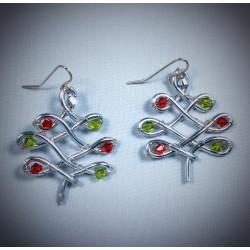 Silver Christmas Trees - 2377