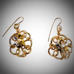 Tri-Tone Earrings